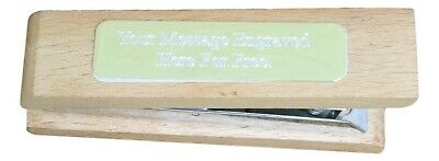 Wooden Stapler Office Stationary Gift With FREE ENGRAVING