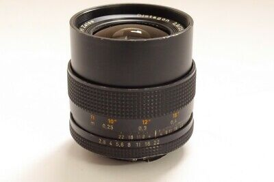 Carl Zeiss 25mm f2.8 T* manual focus wide-angle Contax AE mount lens