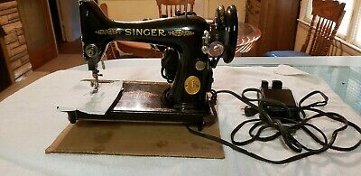 Vintage Singer Simanco Ornate Sewing Machine Made in Great Britain