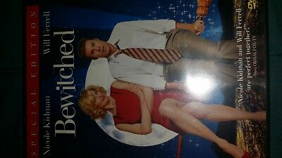 Bewitched Movie Video Film Disc Dvd Nicole Kidman Will Farrell Comedy