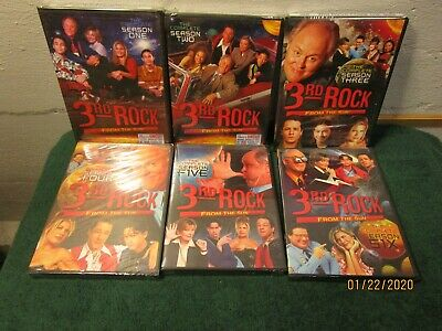 3rd Rock From the Sun The Complete Series DVD Box Set New Sealed Free Shipping