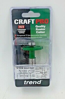 Trend C152X1/2TC Bearing Guided Biscuit Jointer 4.0 x 37.2mm Cutter
