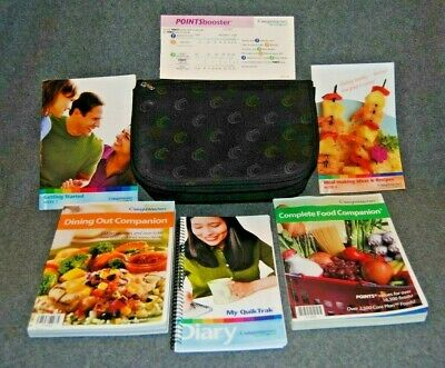 Weight Watchers Bundle - Points Booster Slide, Getting Started, Quik Trak & More