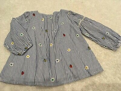 Stunning Marks and Spencers Girls Top Spring Style 12-18mths Immaculate