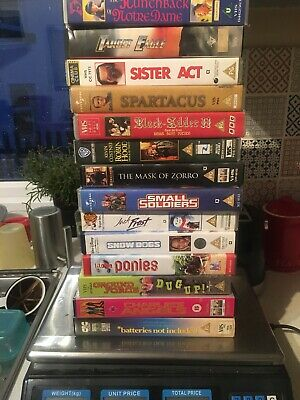 Joblot Videos Cert PG Black Adder Robin Hood Zorro X14