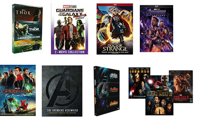 Cheap Marvel DVD Lot Bundle Titles + Action Movies - Buy More Save on Shipping