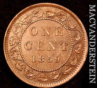 Canada: 1859 One Large Cent - Scarce  Better Date  #NR4655