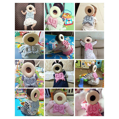 Baby Kids Head Protection Pillow Pad Toddler Head Back Care Cute Resistance、NeBD