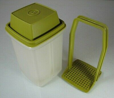 Retro/vintage green 70s Tupperware beetroot server container olives/pineapple