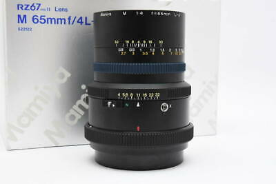 [Mint] MAMIYA M 65mm F4 L-A FLOATING SYSTEM RZ67 mount From Japan #6144