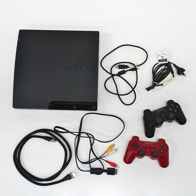 Playstation 3 PS3 160GB Console CECH-3002A & 2 Controllers #453