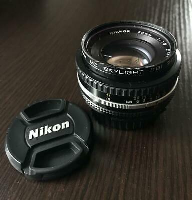 Nikon Ai-S Nikkor 50Mm F1.8 Single Focus Lens