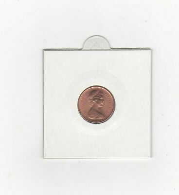 Uncirculated Half Penny Piece 1971 first date minted 1/2 Pence in Coin Pocket