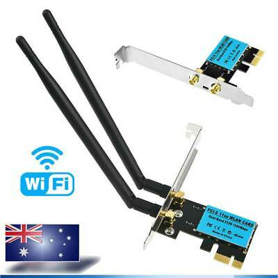Wireless 1200Mbps PCI-E WiFi Card 2.4G 5G Dual Band Network Adapter for Desktop