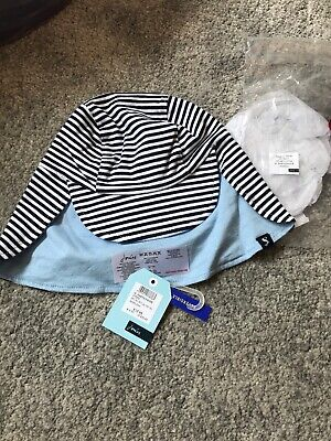 NEW Joules Reversible Sunhat 12-18-24mths 1-2y BNWT Boys Clothing Summer Holiday