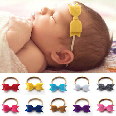 New Fashion Elastic Children Headband Cute Bow Tie Baby Girl Hair Accessories