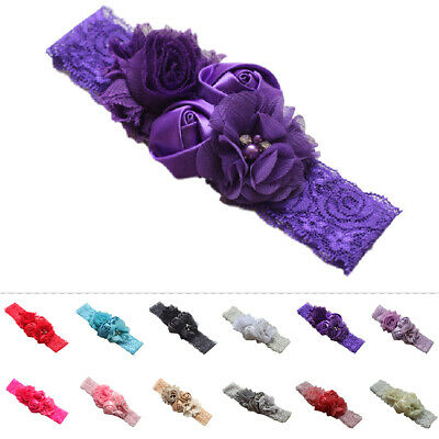 Kids Baby Girls Bow Hair Band Bowknot Hair Ribbon Headband Accessories New