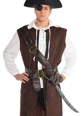 Adult Mens Pirate Bandolier Belt