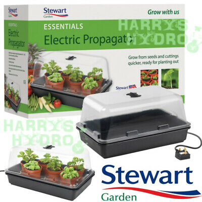 Stewart Essentials Heated Electric Plant Seed Propagator. 38cm & 52cm.