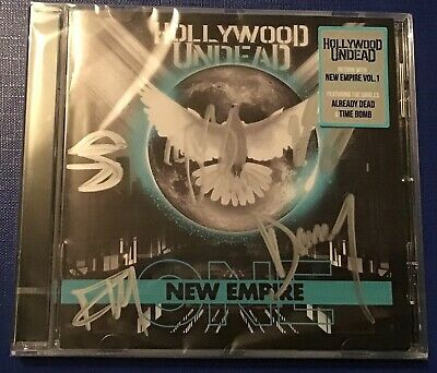 Hollywood Undead New Empire Vol 1 Cd Brand New Sealed And Signed