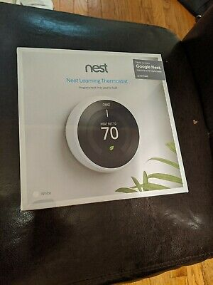 Nest thermostat White new in package unopened