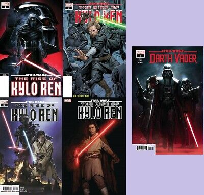 STAR WARS the RISE of KYLO REN #1 2nd #2 2nd 3 4 DARTH VADER #1 1st print 3/11