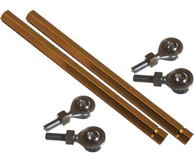Go Kart Track / Tie Rod for Mad Croc Gold & Ends x 2 Karting Racing Race