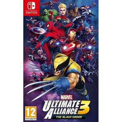 Marvel Ultimate Alliance 3 : The Black Order   NINTENDO SWITCH