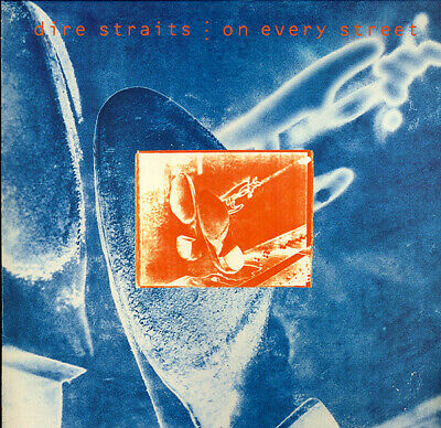 "DIRE STRAITS ""ON EVERY STREET"" (CD) Mark KNOPFLER"