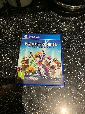 PlayStation 4 PS4 Game Plants VS Zombies Battle For Neighborville