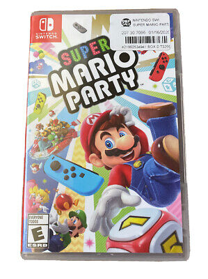 Super Mario Party  (Nintendo Switch) EXCELLENT. Tested.