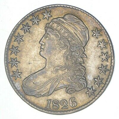 1826 Capped Bust Half Dollar *6674