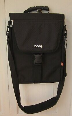 booq Black Laptop Computer Tablet Notebook Messenger Shoulder Bag Soft