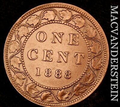 Canada: 1888 One Large Cent - Scarce  Better Date  #NR4717