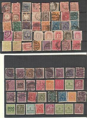 Germany and area lot of 72 stamps/early onwards Hamburg Wurttemberg Bayern etc