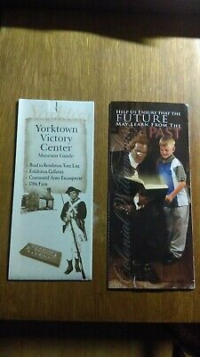 Lot of (2) Virginia Tourist Brochures