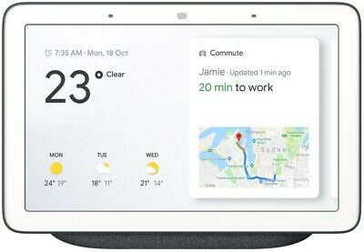 Google Nest Hub Charcoal - Brand New