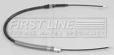 Parking Brake Cable FKB2425 by First Line Genuine OE - Single