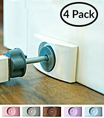 Baby Gate Wall Protector Protect Walls & Doorways from Pet & Dog Saver 4 Pack