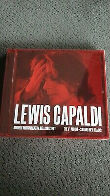 LEWIS CAPALDI DIVINELY UNINSPIRED TO A HELLISH EXTENT CD (Expanded Edition 2019)