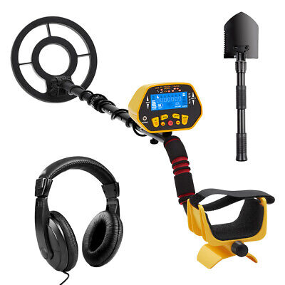 Metal Detector Pinpointer Underground Depth Scanner Search Finder Gold Digger