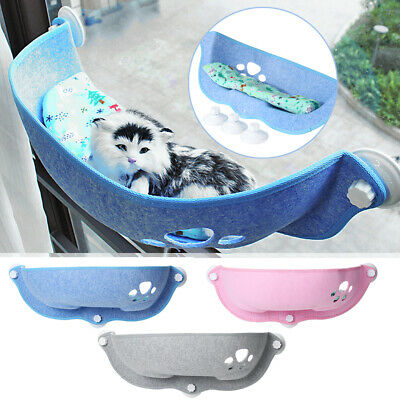 """26"""" Pet Window Bed Cat Perch Suction Cup Hammock Seat Beds Soft Cushion Mat Pad"""