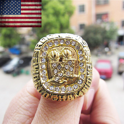 1995 Houston Rockets #OLAJUWON Championship Ring NBA Champions Size 11. RARE