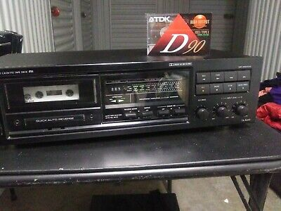 Onkyo Stereo Cassette Tape Deck R1 HX Pro Dolby 2 Head TA-R200 *Tested