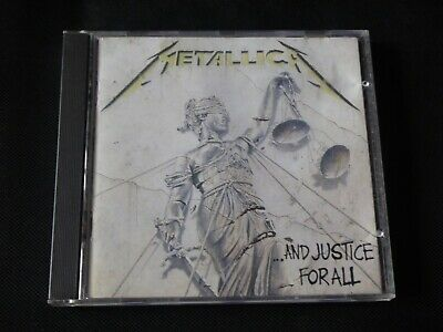 Metallica - And Justice For All (CD 1988) NEWSTED ECHOBRAIN FLOTSAM & JETSAM