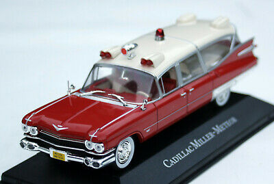 Cadillac Series 62 Miller-Meteor Superior Ambulance - Modell Bj. 1959, M. 1:43