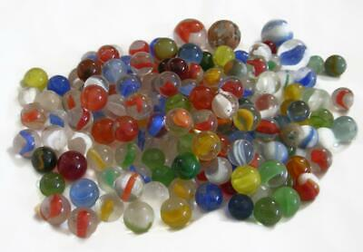 Vintage Glass Marbles including Shooters - Cat's Eye Clearee Opaque