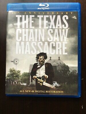 The Texas Chainsaw Massacre 40th Anniversary (Blu-ray Disc, 2014)