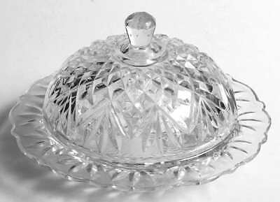 Anchor Hocking PRESCUT CLEAR Round Butter Dish 7470425