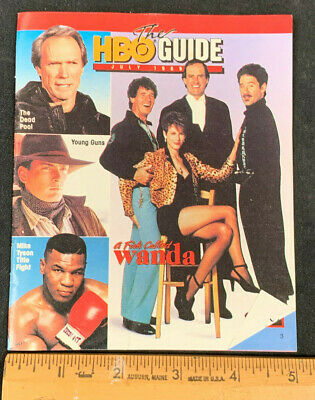 1989 July *A Fish Called Wanda* Hbo Home Box Office Movie Guide Booklet (As)